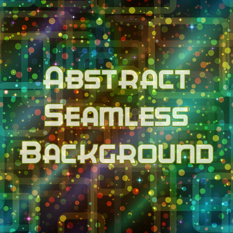 Abstract Seamless Color Background royalty free illustration