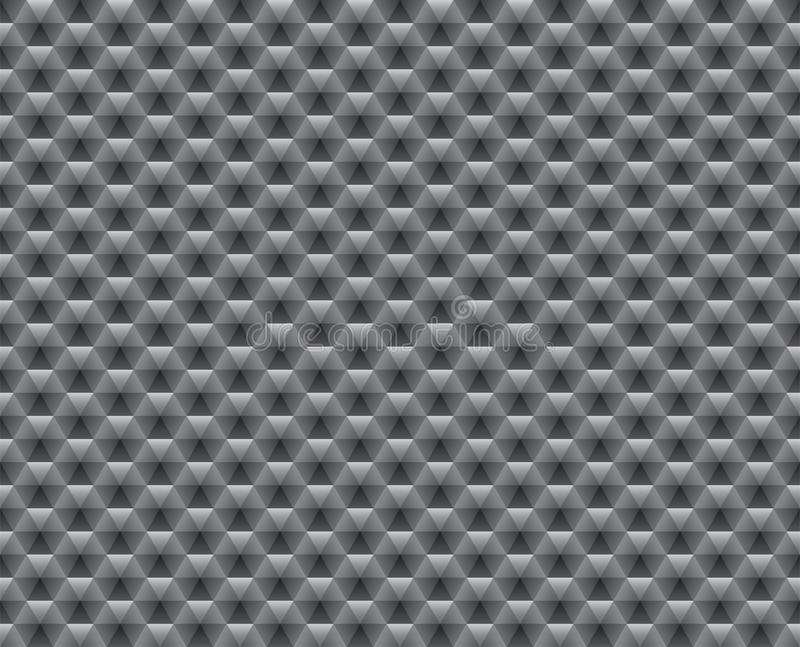 Abstract seamless gray pattern stock illustration