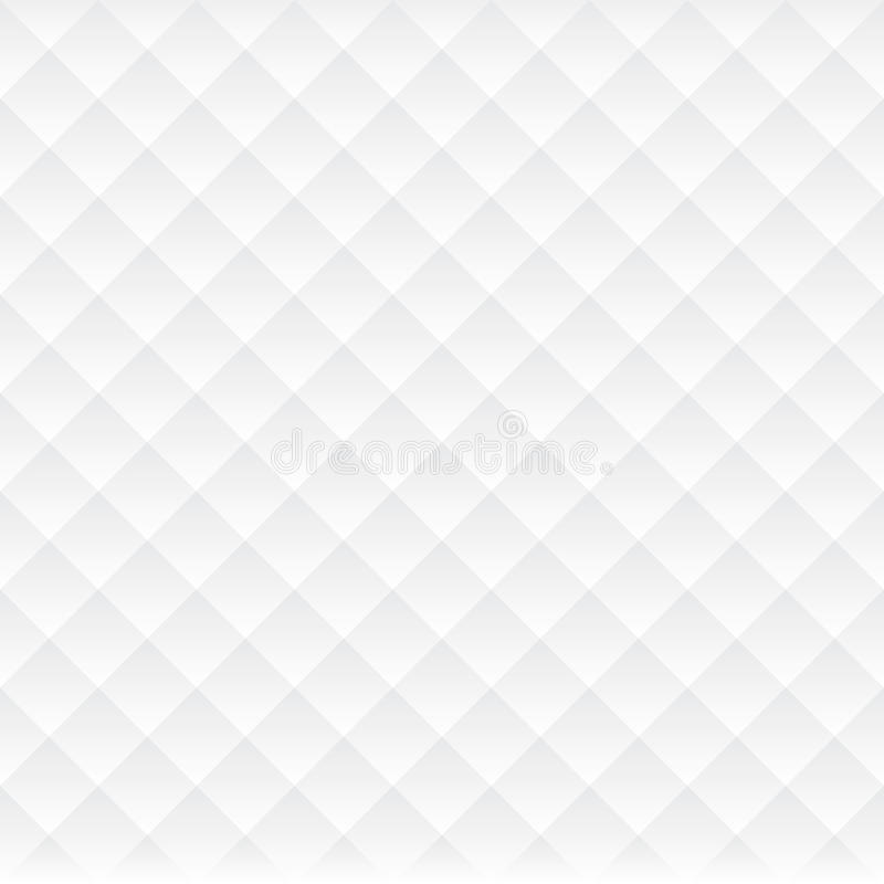 Abstract Seamless Light Checkered Cube Luxury Pattern Background stock illustration
