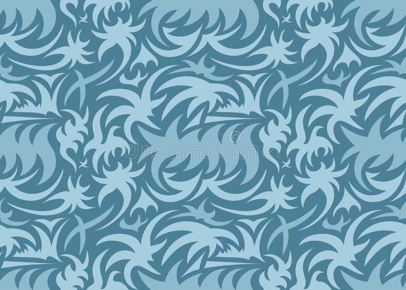 Download Abstract Seamless Organic Pattern. Vector Illustration Stock Vector - Image: 83723236