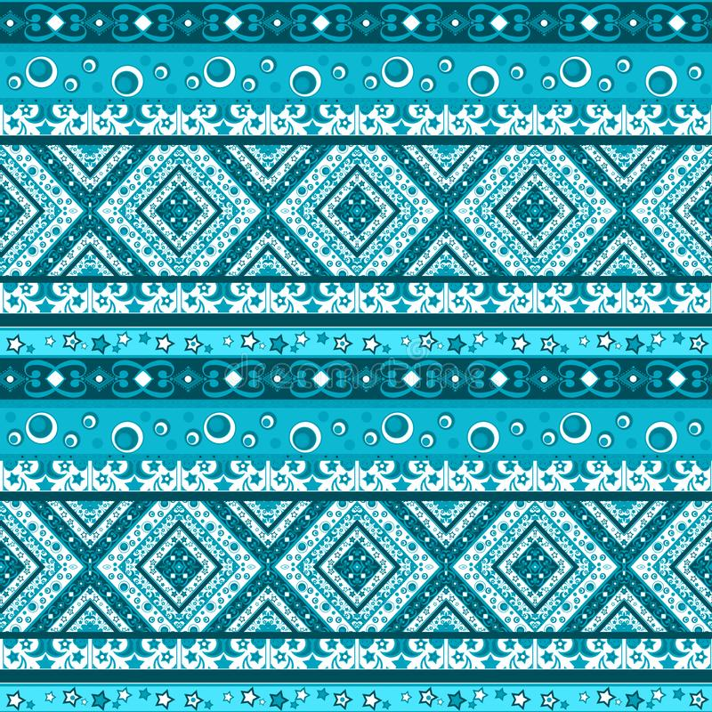 Abstract seamless patchwork geometrical pattern quilting lined royalty free illustration