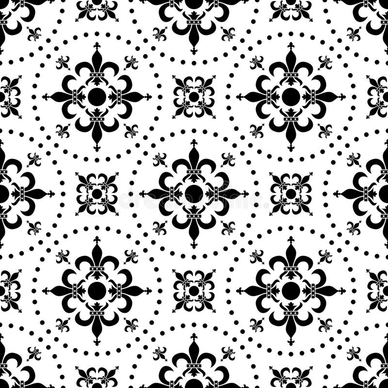 Abstract Seamless Pattern [1] royalty free illustration