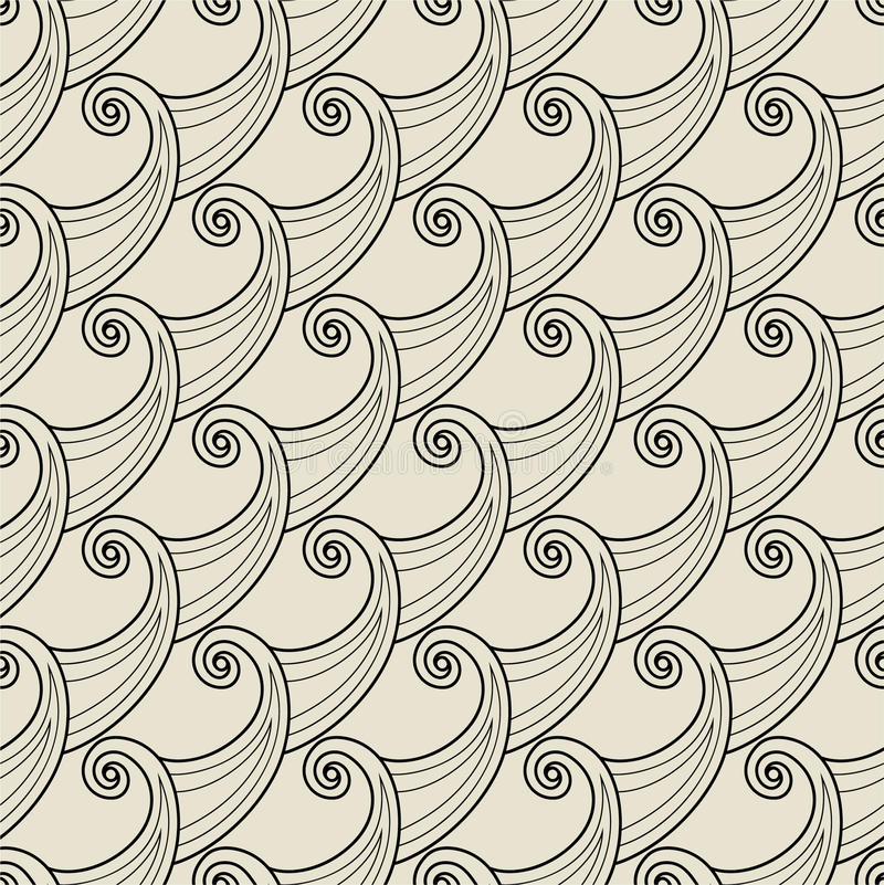 Download Abstract seamless pattern stock vector. Image of warp - 12335738