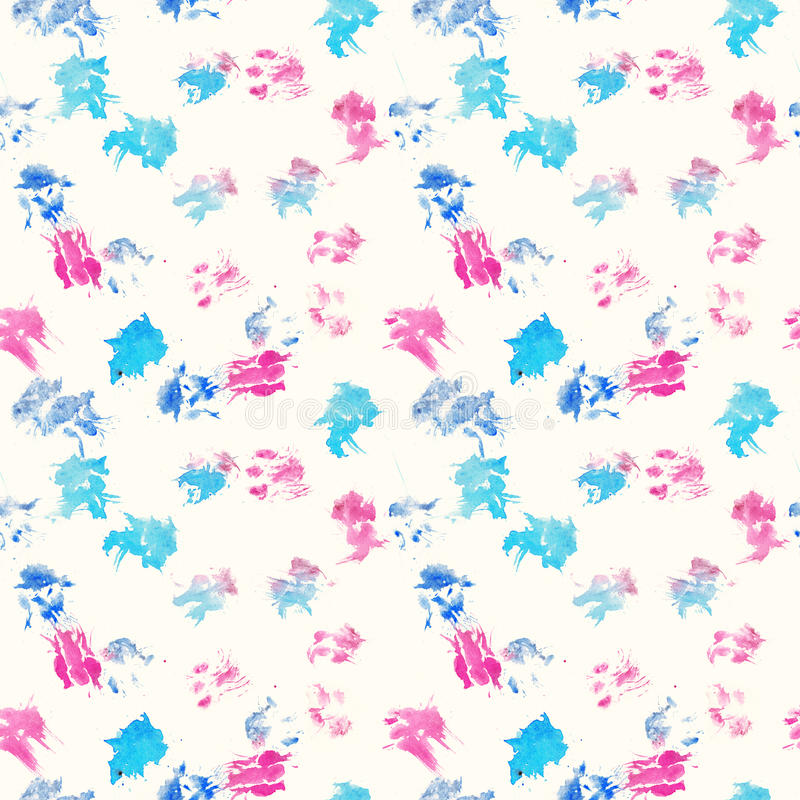 Free Abstract Seamless Pattern - Black Ink Prints With Messy Dog Paws. Creative Monochrome Backdrop With Regular Animal Footprints Royalty Free Stock Images - 92375839