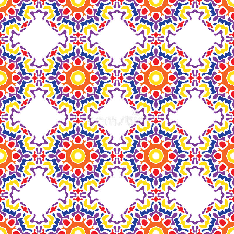Abstract seamless pattern of bright spots. stock illustration