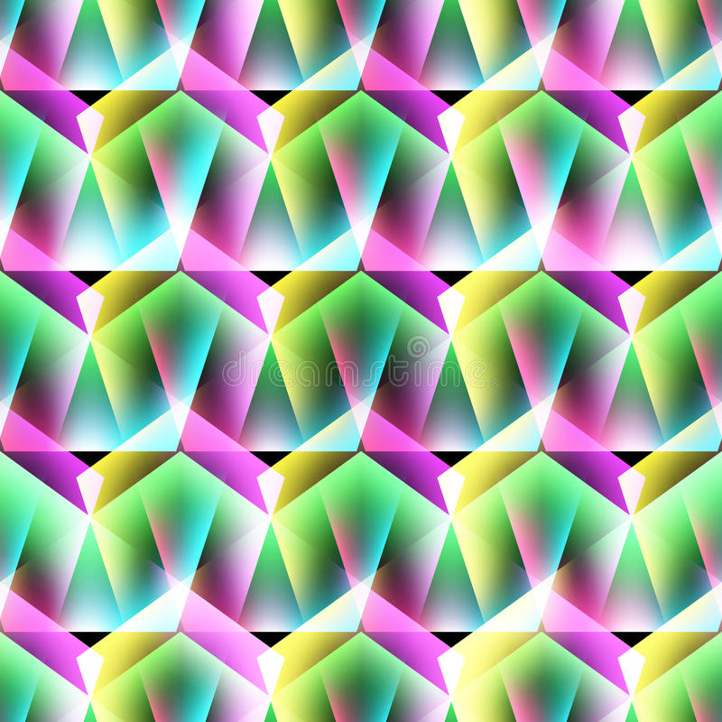 Abstract seamless pattern. Creative vector background. Colorful bright stock illustration