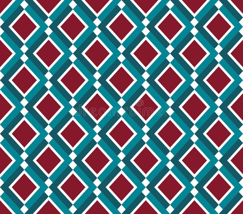 Abstract seamless pattern in elegant geometric style. Geometric ornament in folk style. Elegant retro background. Scandinavian. Design. For textile, fabric vector illustration