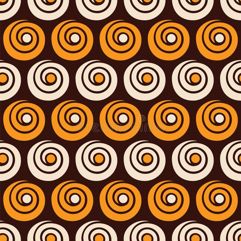 Free Abstract Seamless Pattern Of Spirals And Circles Royalty Free Stock Photos - 155478918
