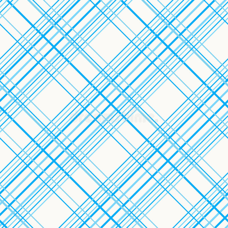 Abstract Seamless Pattern with Plaid Fabric on a white background. Simple checkered template. Plain Tartan background for decoration or backdrop vector illustration