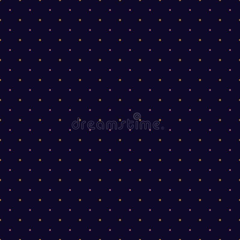 Abstract seamless pattern illustration of dots and circles. Abstract seamless pattern with small scale dots, eyelets and circles. Vector illustration in shades stock illustration