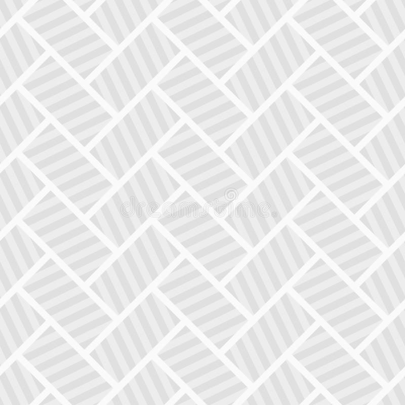 Abstract seamless pattern. Striped rectanglesAbstract seamless pattern. Striped rectangles. Diagonal arrangement. Repeating geomet. Abstract seamless pattern royalty free illustration