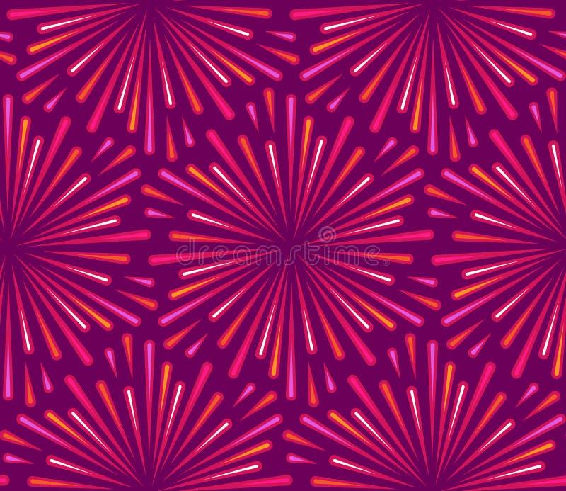 Purple seamless pattern royalty free illustration
