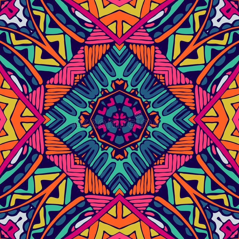 Abstract seamless pattern tile vector illustration