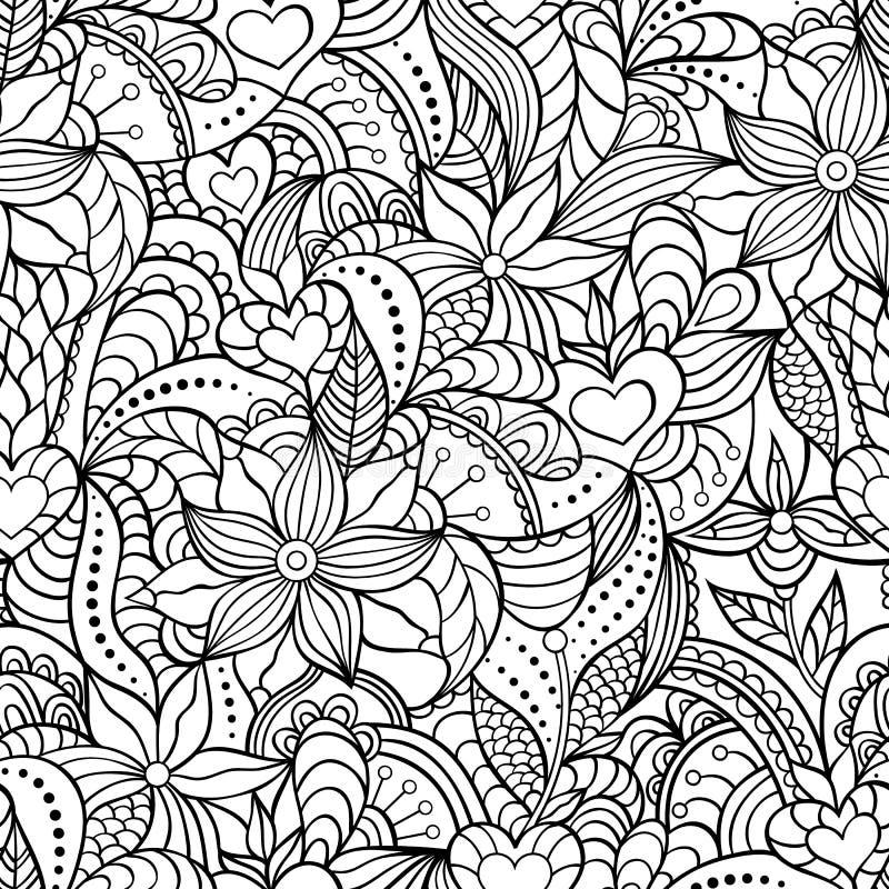 Abstract seamless pattern. stock illustration
