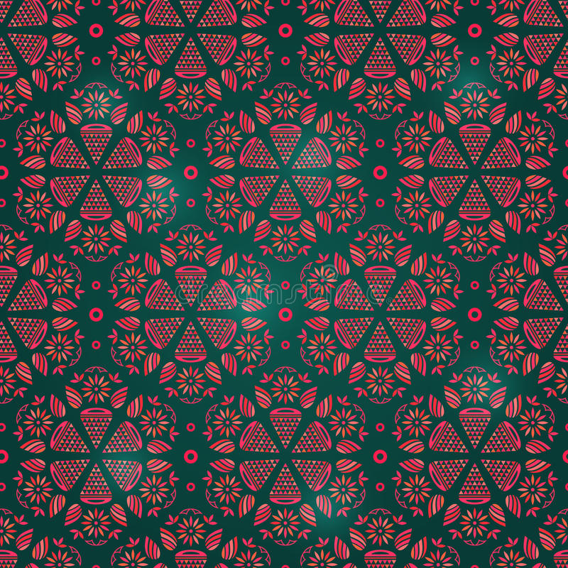Download Abstract Seamless Retro Background Pattern Stock Illustration - Image: 30308868