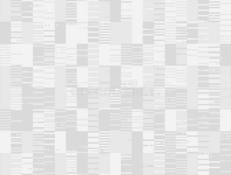 Abstract seamless stroke pixel degraded background royalty free illustration