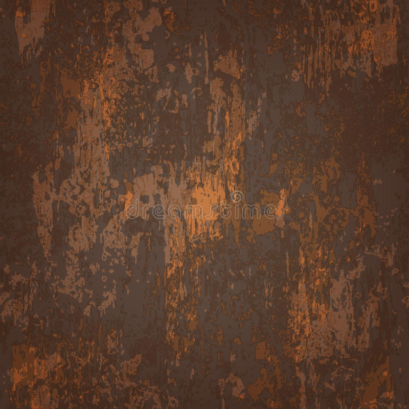 Download Abstract Seamless Texture Of Rusted Metal Stock Vector
