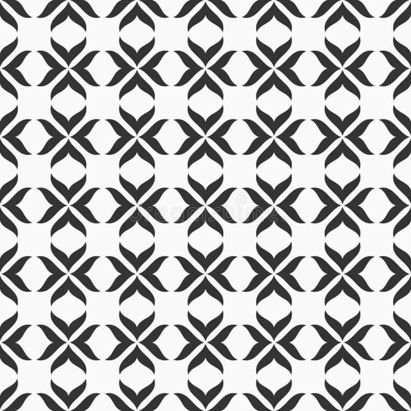 Abstract seamless vector pattern. Modern stylish texture royalty free illustration