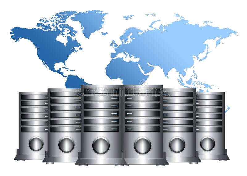 Download Abstract Servers Stock Photo - Image: 22900140