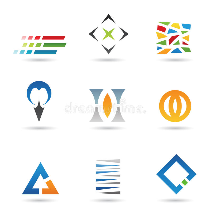 Download Abstract Shapes 2 stock vector. Image of identity, optician - 21811330