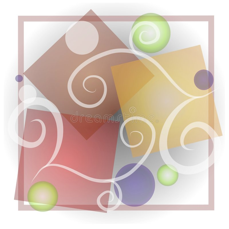 Download Abstract Shapes Art Collage Stock Illustration - Image: 2848612