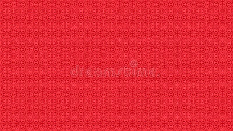 Abstract romantic red background ornament for wedding card stock photo