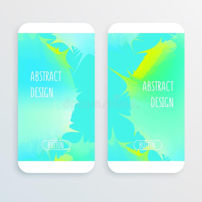 Abstract sharp design royalty free illustration