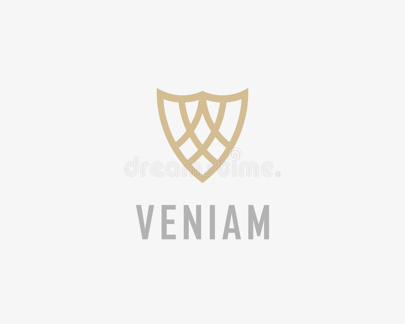 Abstract Shield Logo Design Template. Premium Business Sign. Stock ...