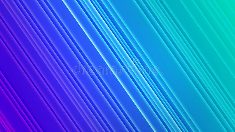 Abstract Shining Diagonals in Gradated Blue and Green Background. Abstract image of diagonals in gradient blue and green background for web design, backdrop vector illustration