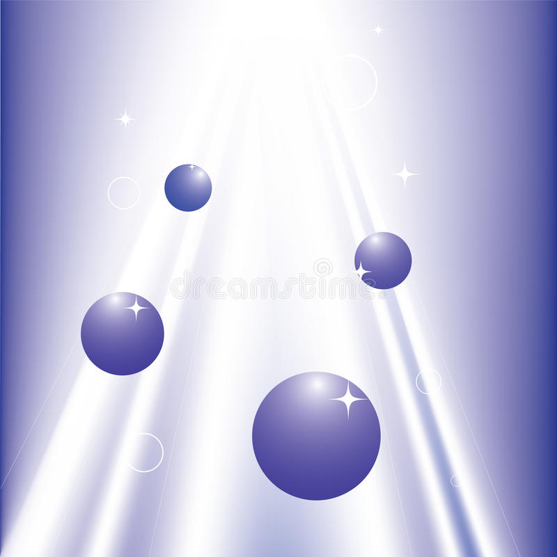 Abstract Shining Sparkling Light And Rounds Royalty Free Stock Images