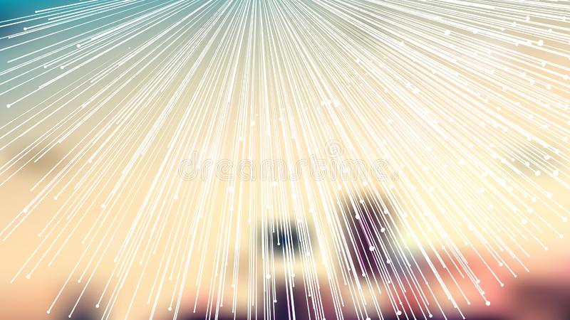 Abstract Shiny Light Color Burst Lines Background royalty free illustration