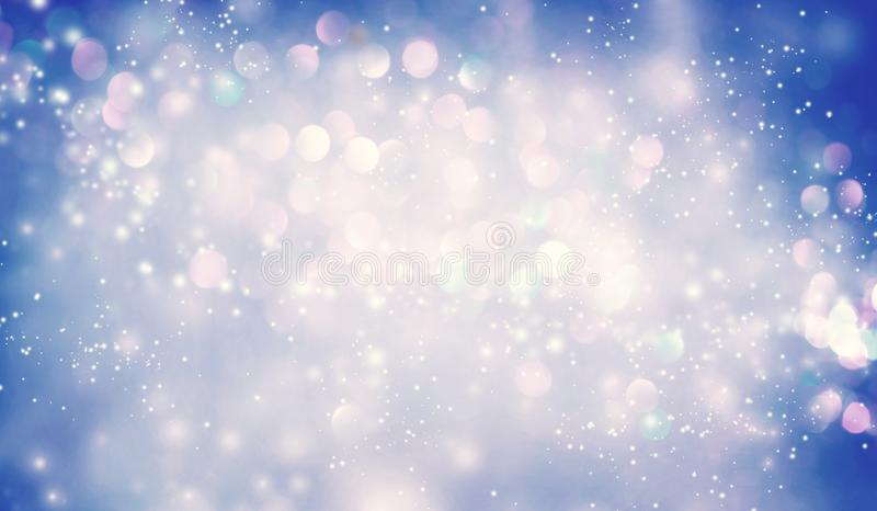 Abstract shiny light and glitter background vector illustration
