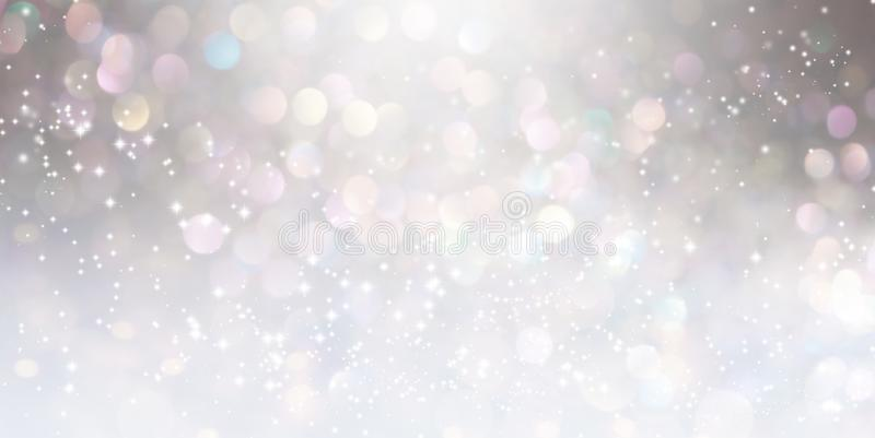 Abstract shiny light and glitter background royalty free illustration