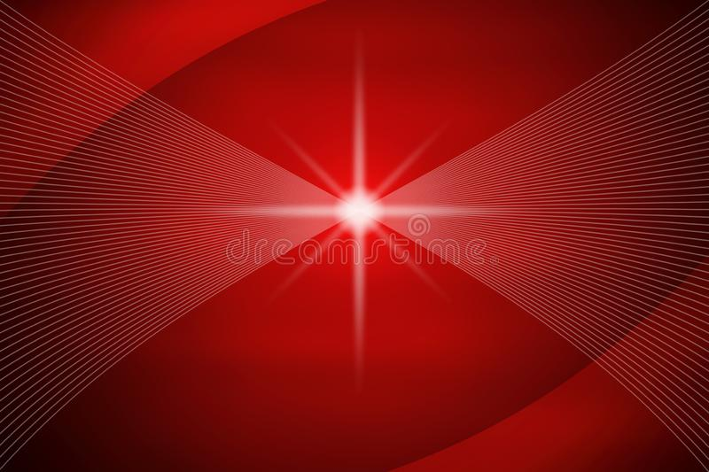 Abstract Shiny Mesh and Curves in Dark Red Background vector illustration