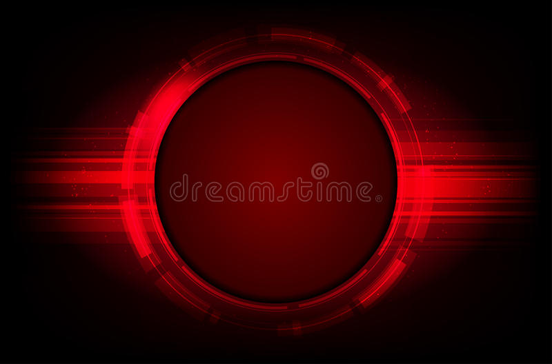 Abstract shiny red background royalty free illustration