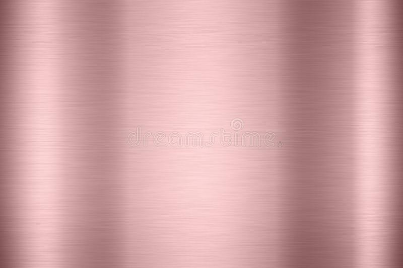 Abstract Shiny smooth foil metal Gold color background Bright vi royalty free stock image