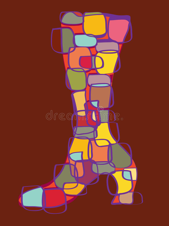 Download Abstract shoe stock vector. Image of beauty, female, object - 16028228