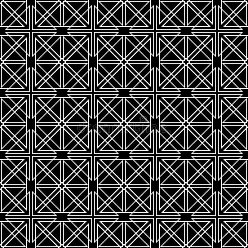 Abstract sier geometrisch naadloos patroon stock illustratie