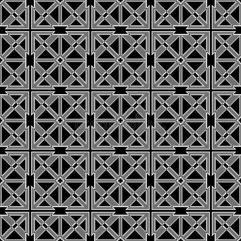 Abstract sier geometrisch naadloos patroon royalty-vrije illustratie