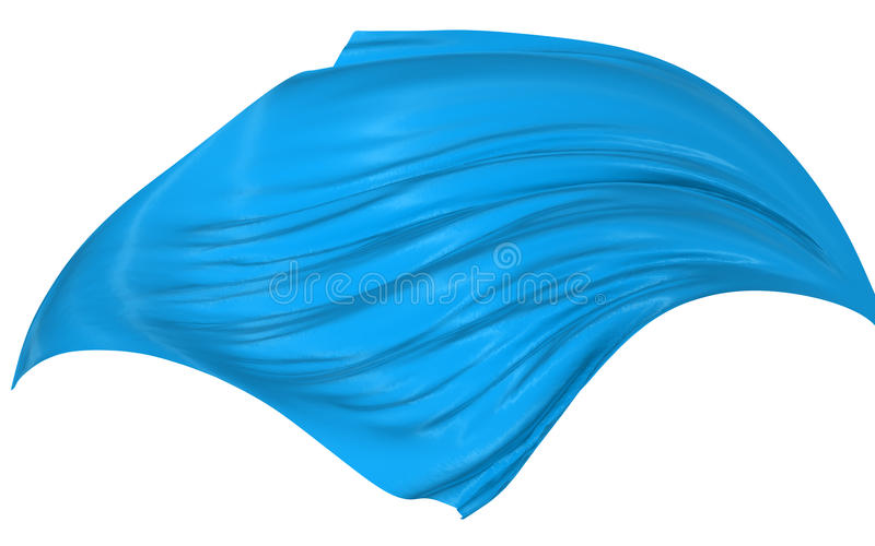 Abstract silk in the wind vector illustration