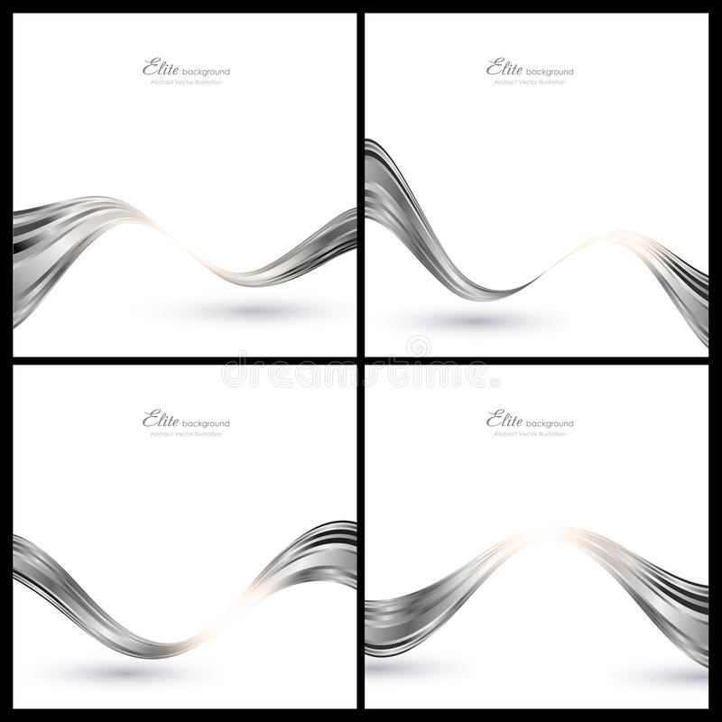 Download Abstract Silver Elements For Background Stock Vector - Image: 21932095