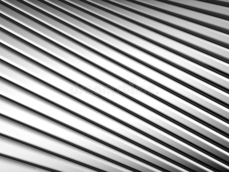 Abstract silver shiny metal stripe background royalty free stock image