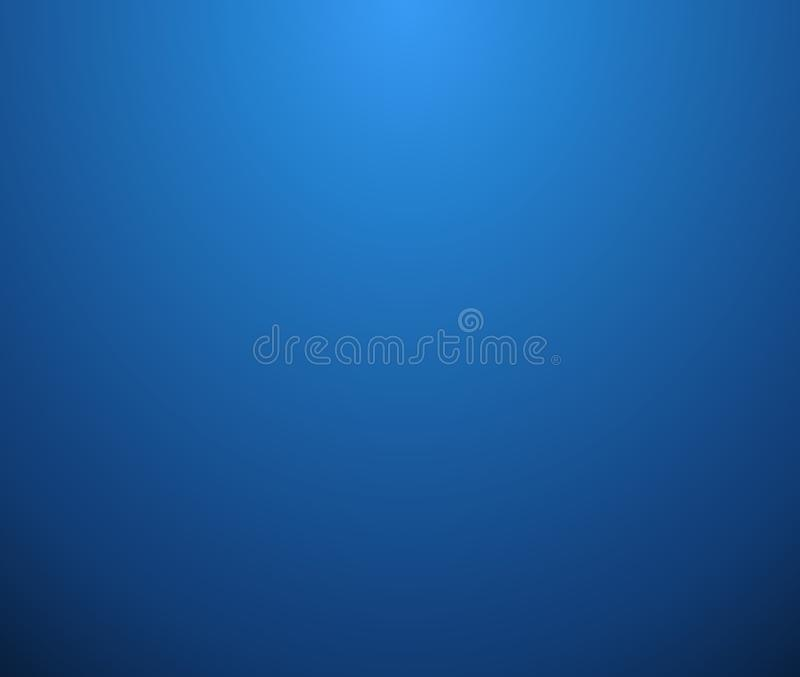 Abstract of simple clear blue gradient background. vector illustration