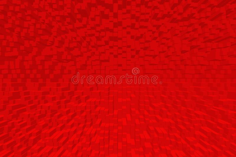 Abstract simple red background royalty free illustration