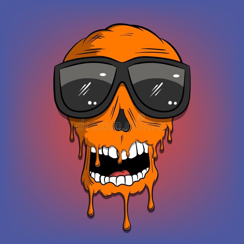 Graffiti Skull Stock Illustrations