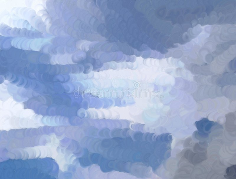 Abstract sky vector illustration