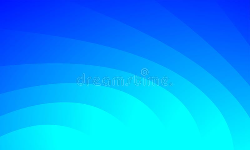 Abstract Sky Blue Blur Background.An abstract blur background with gradation. Retro coloured Blur Background Beige Blurred Wallpaper with Watercolor Vintage stock illustration