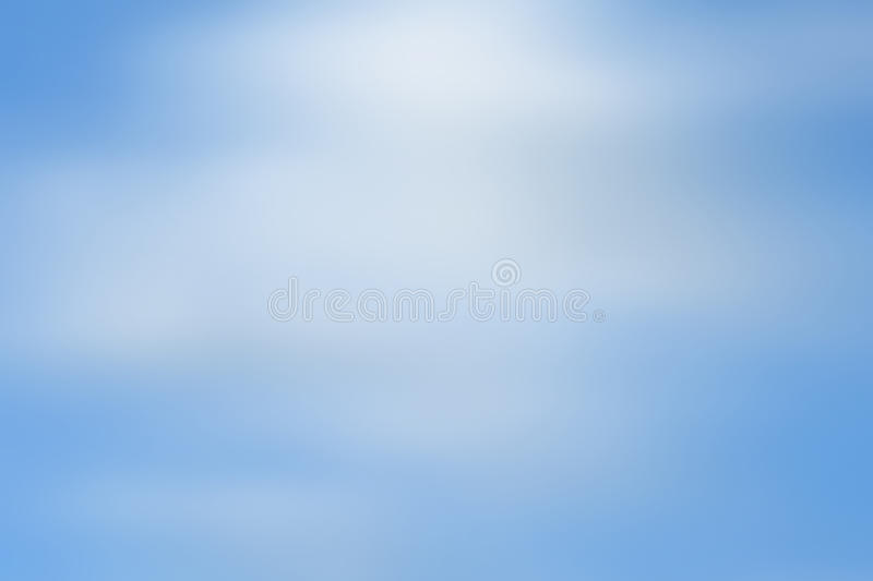 Abstract sky blue blurred background stock photo