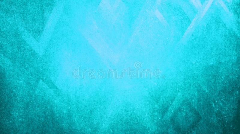 Abstract sky blue color rough dry sharpness triangles texture reflected on blue paper background wallpape. Abstract sky blue rough dry sharpness triangles stock illustration