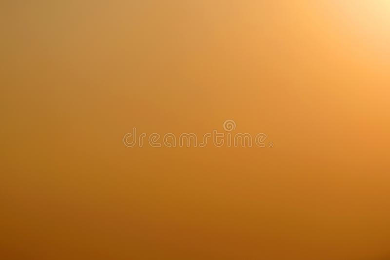 Abstract gradient yellow design sky background. Abstract sky gradient yellow design background for design stock photo